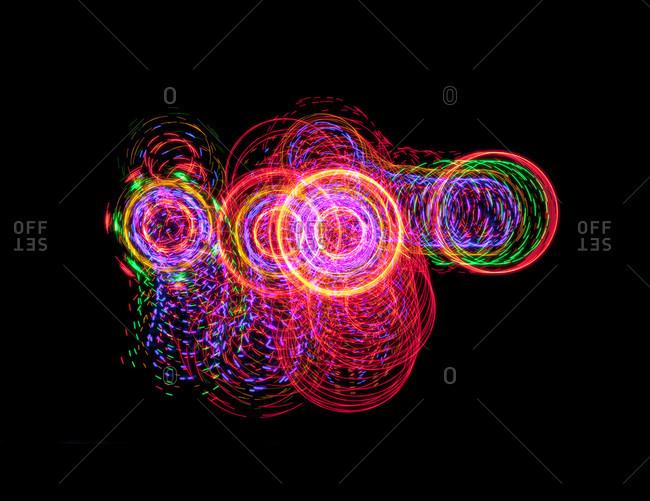 Spirals of light, Neon