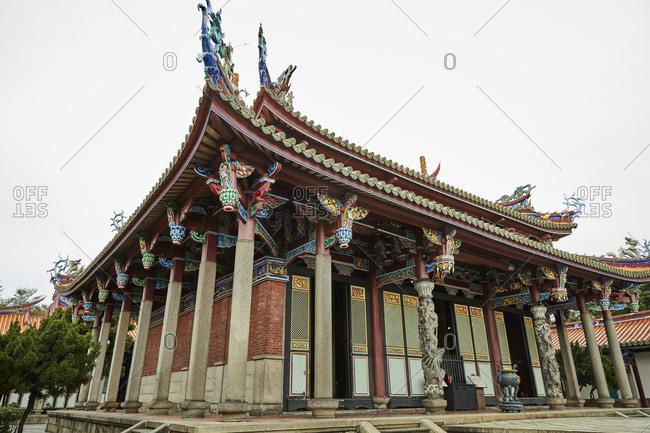 Dalongdong Baoan Temple in Taipei, Taiwan