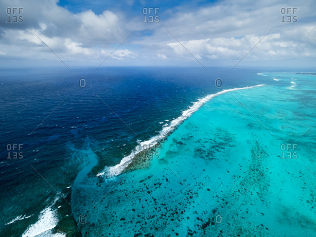 Caribbean- Cayman Islands- George Town- Outer reef