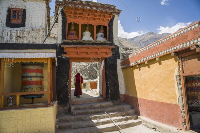 India, Ladakh, Diskit Monastery