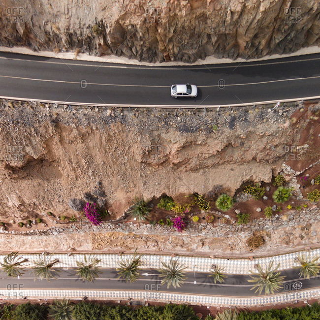 Roads of Gran Canaria, Canary Islands, Spain