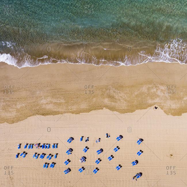 Canteras beach in Las Palmas
