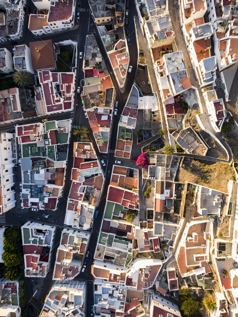 View of Gran Canaria, Canary Islands, Spain from above