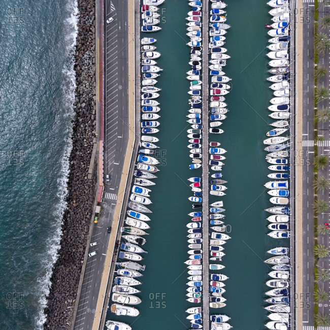 Harbor in Gran Canaria, Canary Islands, Spain