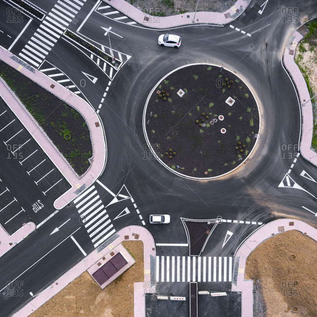 Roundabout in Maspalomas