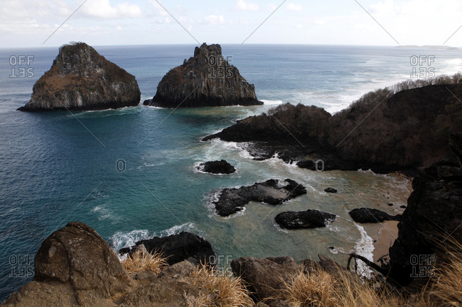Formations along a Brazilian coastline