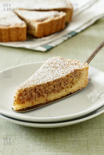 Lemon Frangipane Tart