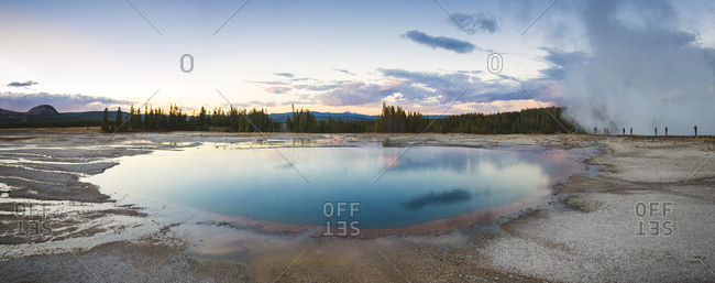 USA- Wyoming- Yellowstone National Park- Grand Prismatic Spring