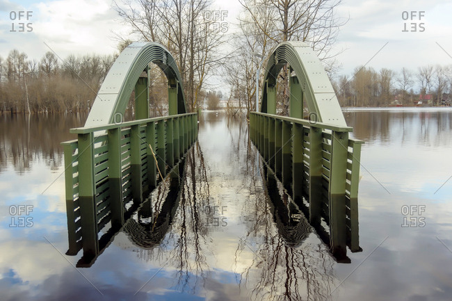 Flooded bridge from the Offset Collection