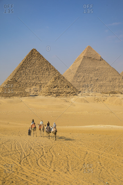 Pyramids of Giza, Giza, Cairo, Egypt