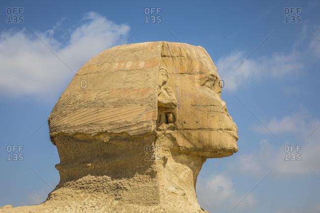 Sphinx, Pyramids of Giza, Giza, Cairo, Egypt