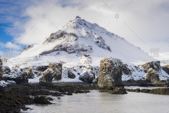 Western iceland stock photos offset for Iceland lonely house