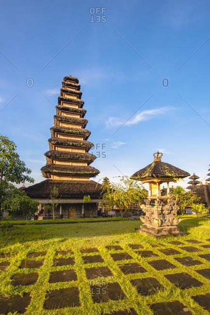 Pura Agung Besakih temple complex, Besakih, Bali, Indonesia. The most important Hindu temple in Bali.
