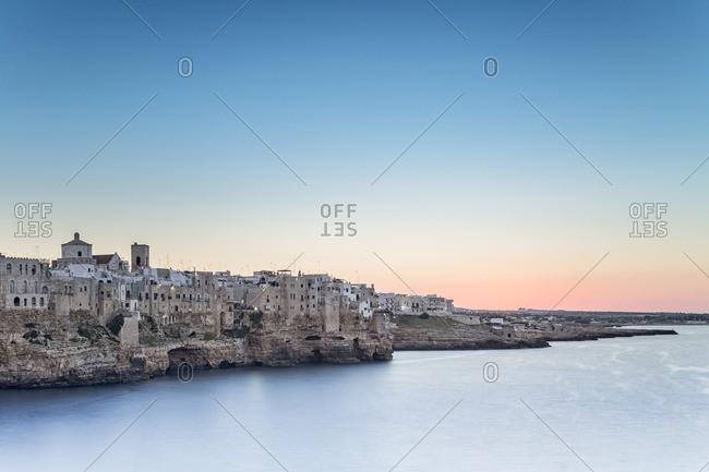 Italia, Italy, Apulia, Puglia, Bari district. Le Murge. Polignano a Mare.