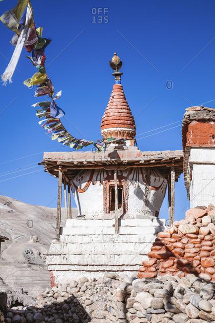 Small stupa, Lo Manthang, Upper Mustang region, Nepal