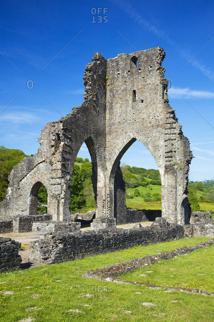 Talley Abbey, near Llandeilo, Carmarthenshire, Wales, United Kingdom, Europe