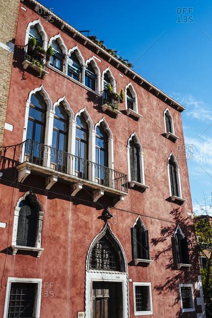 Buildings in Campo Sant'Anzolo, Venice, italy
