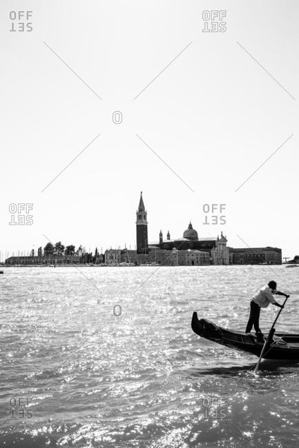 View of San Giorgio Maggiore, Venice, italy