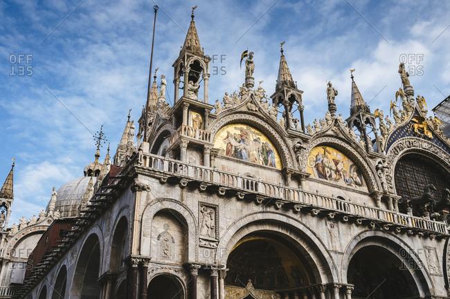 Saint Mark's Basilica in Venice, Italy