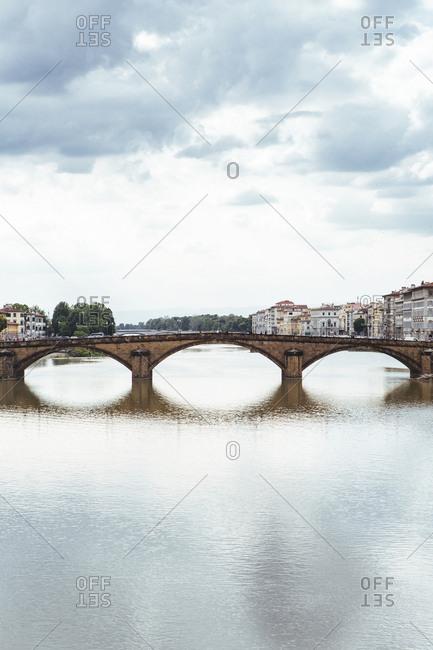 Bridge over Arno river, Florence, Italy