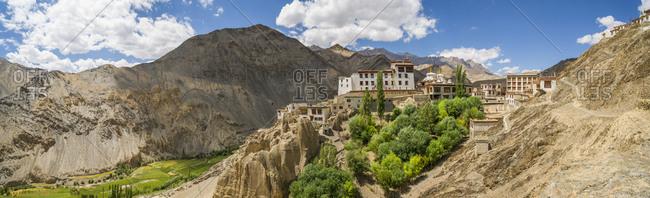 Ladakh, India - 8/11/14: Lamayuru Monastery