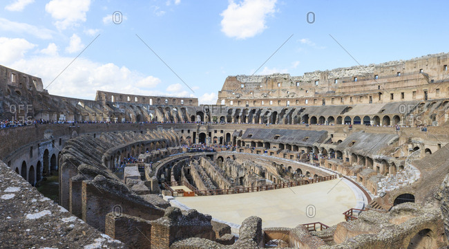 Rome, Italy - October 4, 2015: Colosseum