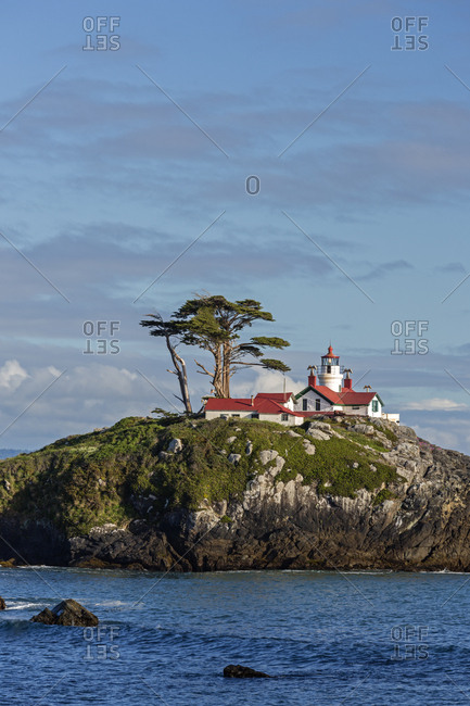 California, Crescent City, Battery Point Lighthouse