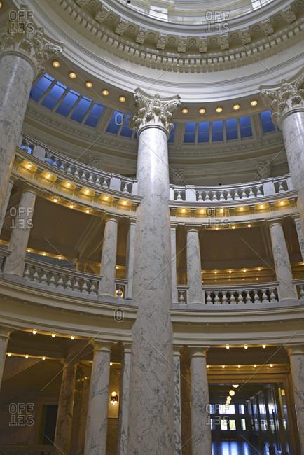 Idaho State Capitol, Boise, Idaho, USA