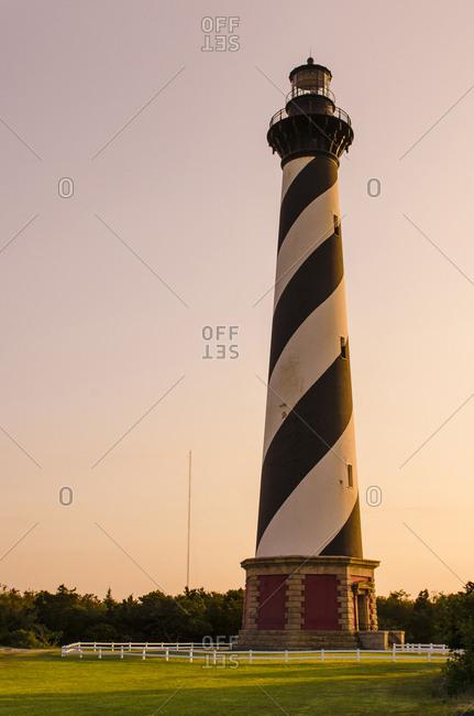 Cape Hatteras Light Station, Hatteras Island, Outer Banks, North Carolina, USA.