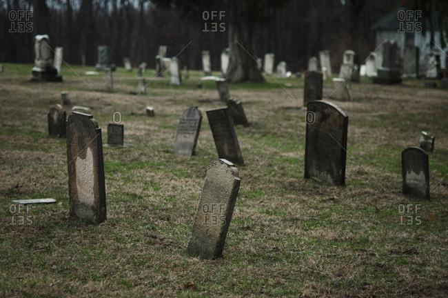 Old cemetery in Ohio