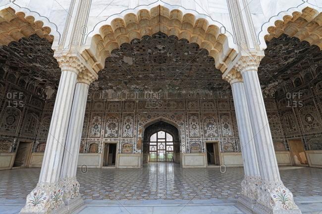 Sheesh Mahal exterior, Lahore Fort, Lahore, Pakistan