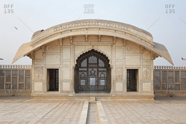 Naulakha Pavilion at Lahore Fort, Pakistan