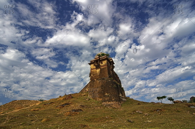 Tower at historic Rohtas Fort, Pakistan