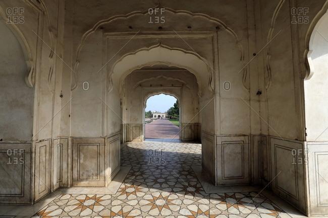 Arched building, Shalimar Gardens, Lahore, Pakistan