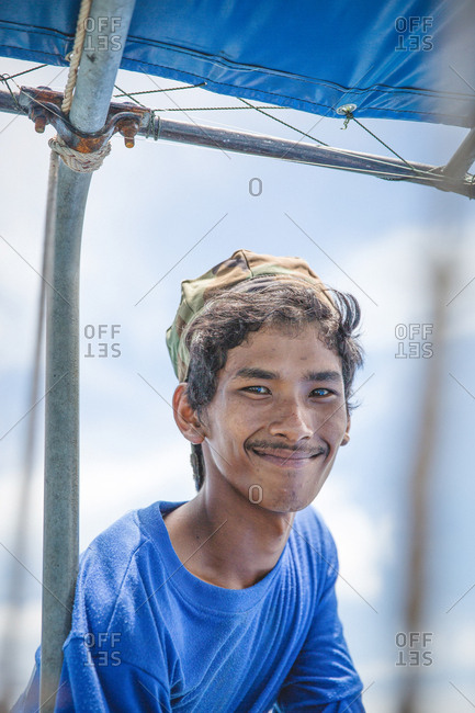 March 30, 2017 - Krabi, Thailand: Portrait of a smiling fisherman