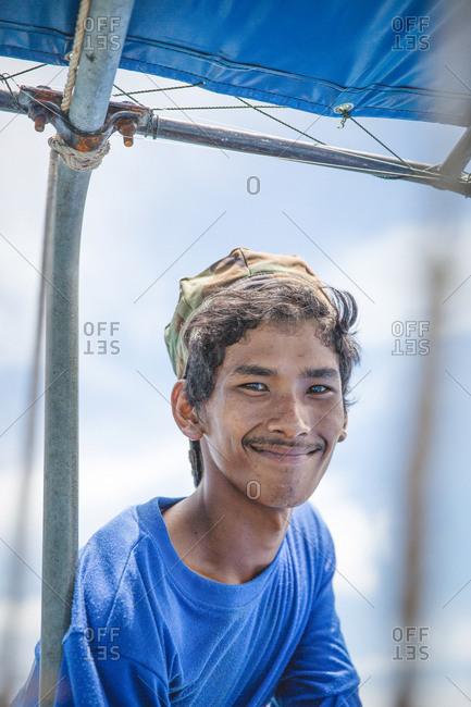 March 30, 2017 - Krabi, Thailand: Portrait of a smiling fisherman