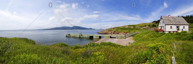 Canada, Quebec, Gaspesie - Landscape Ile Bonaventure national Park