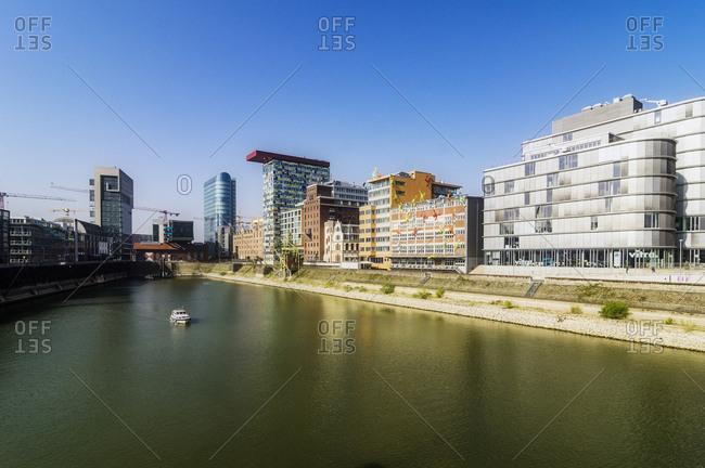 Germany, Duesseldorf - April 9, 2017: Media Harbor