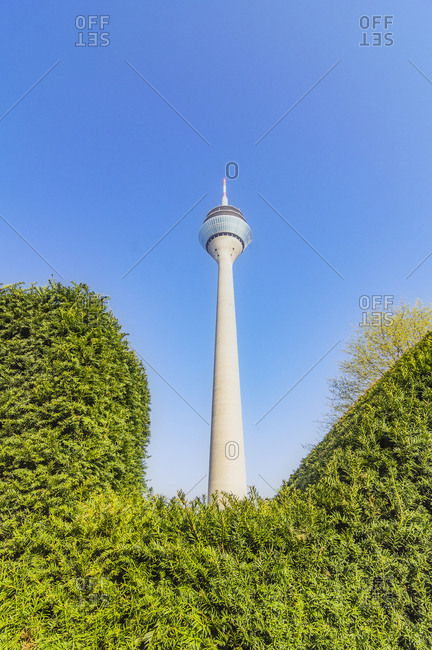 Germany- Duesseldorf- Rhine Tower
