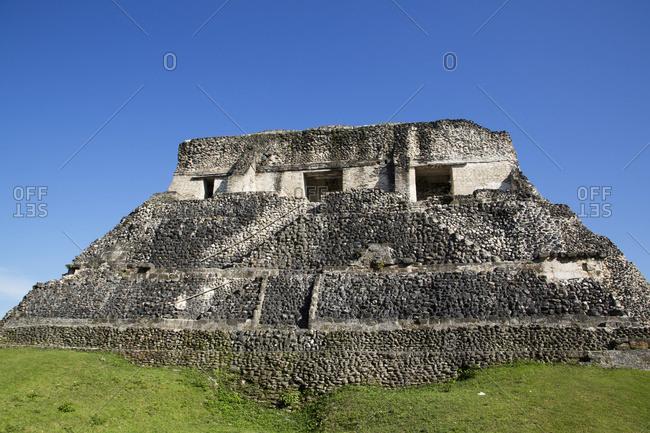 Castillo, Xunantunich Mayan Ruins, outside San Ignacio, Belize