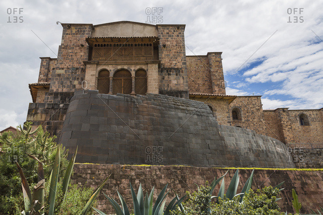 Qoricancha Temple (Temple of the Sun) and Church of Santa Domingo, Cusco, Peru
