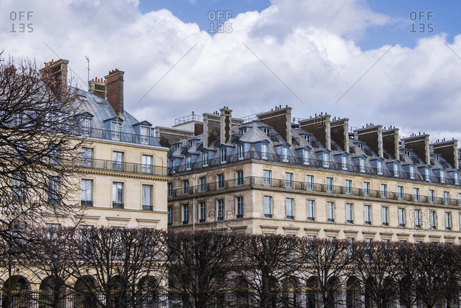 Residential buildings near Place de la Concorde, Paris, France