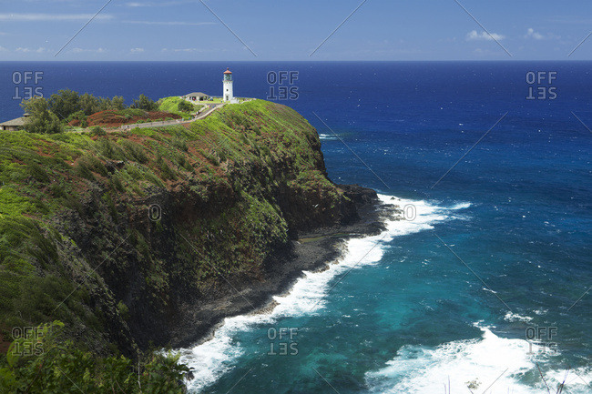 Kilauea Lighthouse, Kilauea Point National Wildlife Refuge, Kauai, Hawaii, United States of America