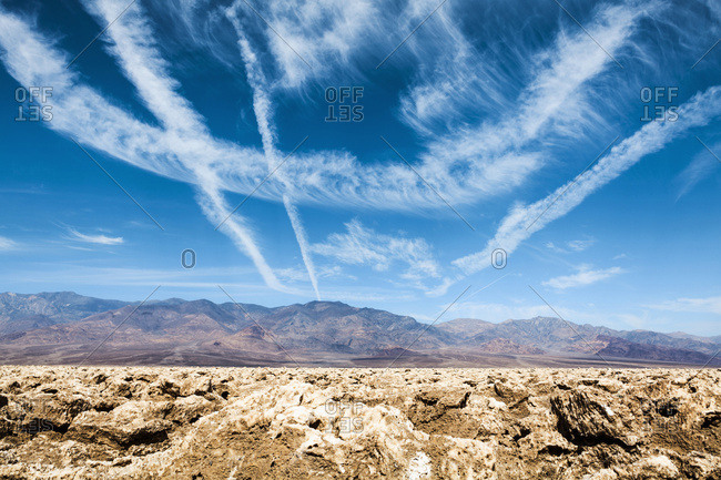Devils Golf Course, Death Valley National Park, California, United States of America