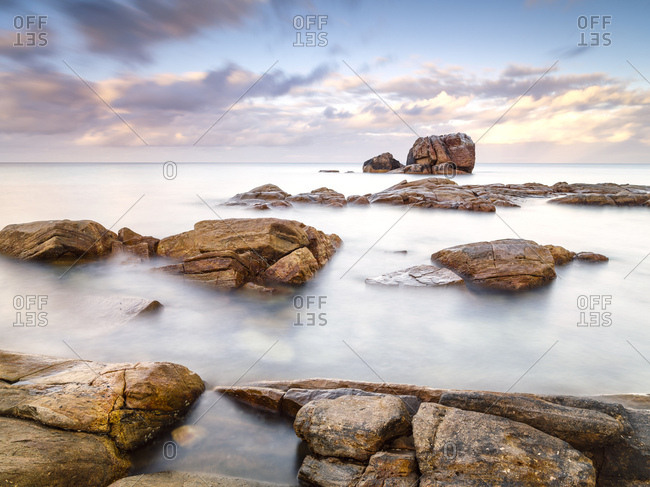 Long exposure of Gannet Rock, Dunsborough, Western Australia