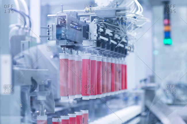 Machinery in pharmaceutical plant