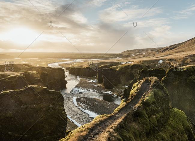 Fjadrargljufur, Iceland