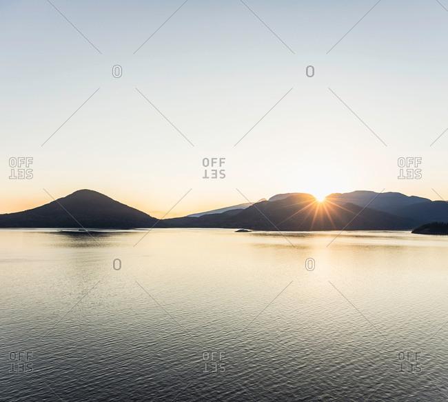 Howe Sound Bay, Squamish, British Columbia, Canada