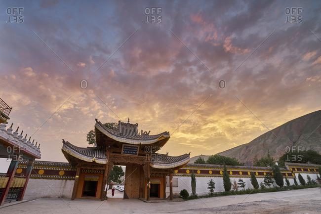 Sangaysong Up Monastery, Tongren, Qinghai Province, China