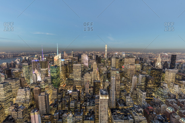 USA - New York City - cityscape